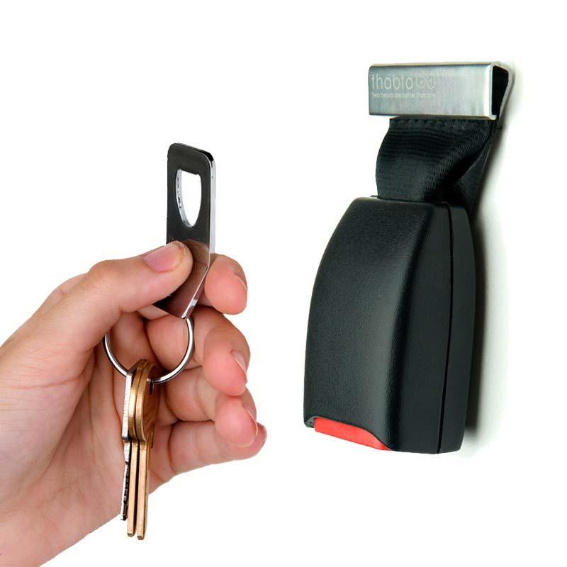 bezpieczny wieszak na klucze BuckleUp