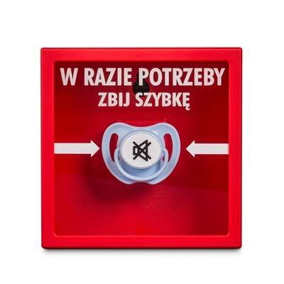 Awaryjny smoczek - wersja polska