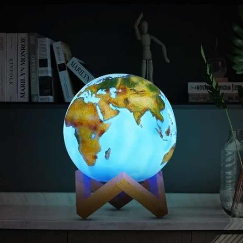 lampa kula ziemska globus