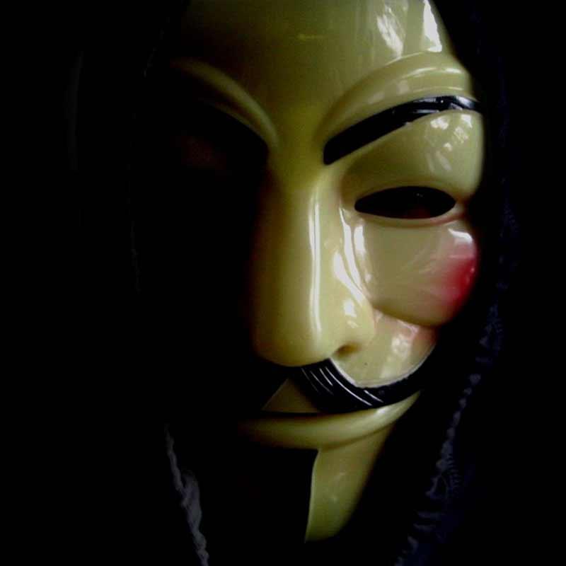 maska v guy fawkes anonymous
