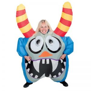 nadmuchiwany kostium potwór