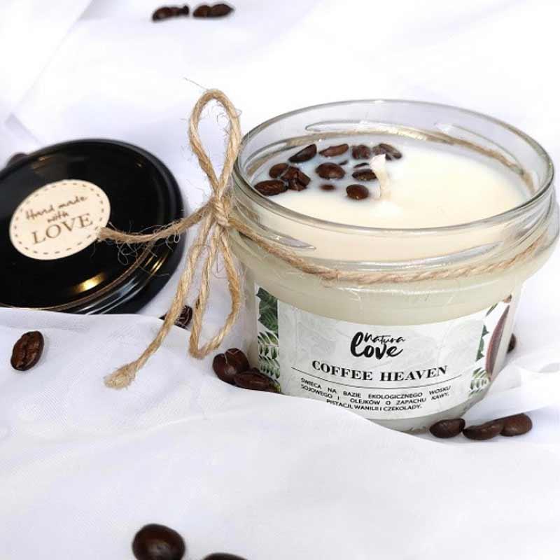 naturalna sojowa świeca zapachowa