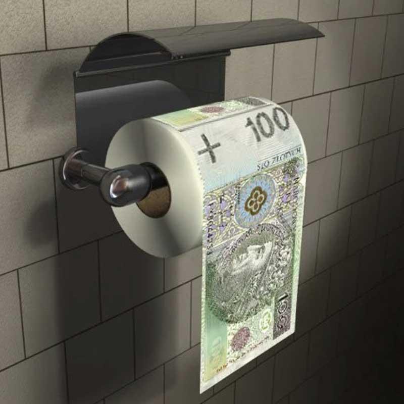 papier toaletowy 100 złoty
