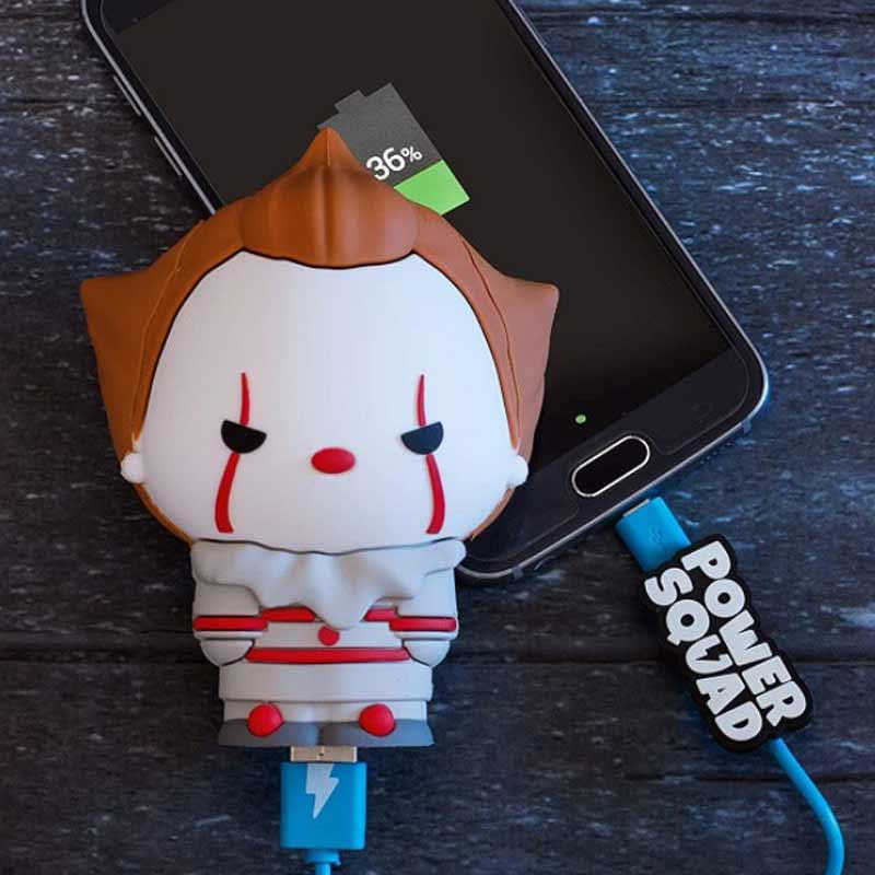 powerbank powersquad klaun pennywise 2500mAh