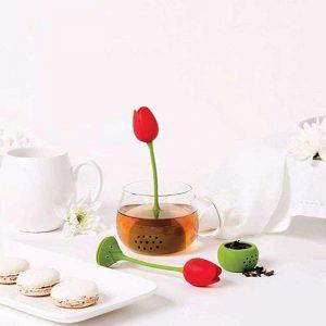 zaparzaczka do herbaty tulipan