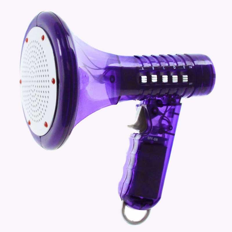 zmieniacz głosu fioletowy