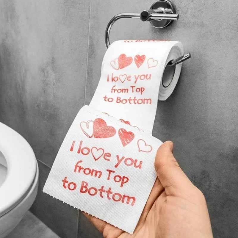 romantyczny papier toaletowy