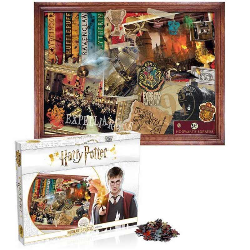 puzzle harry potter hogwarts 1000