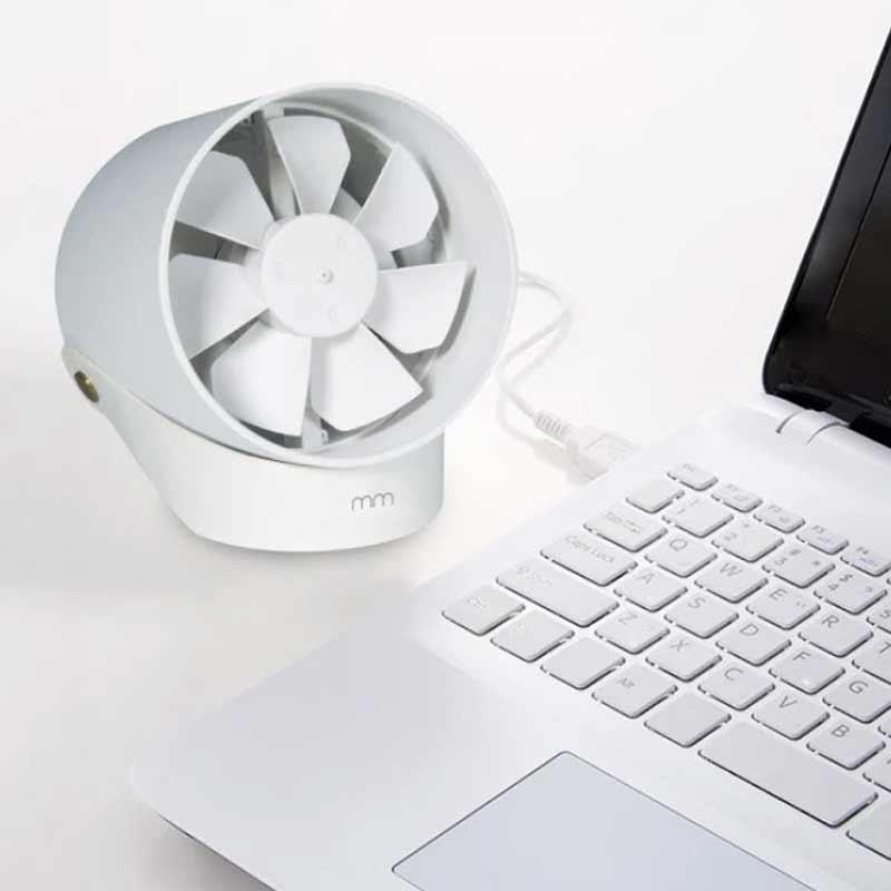 elektroniczny wiatrak biurkowy usb mm