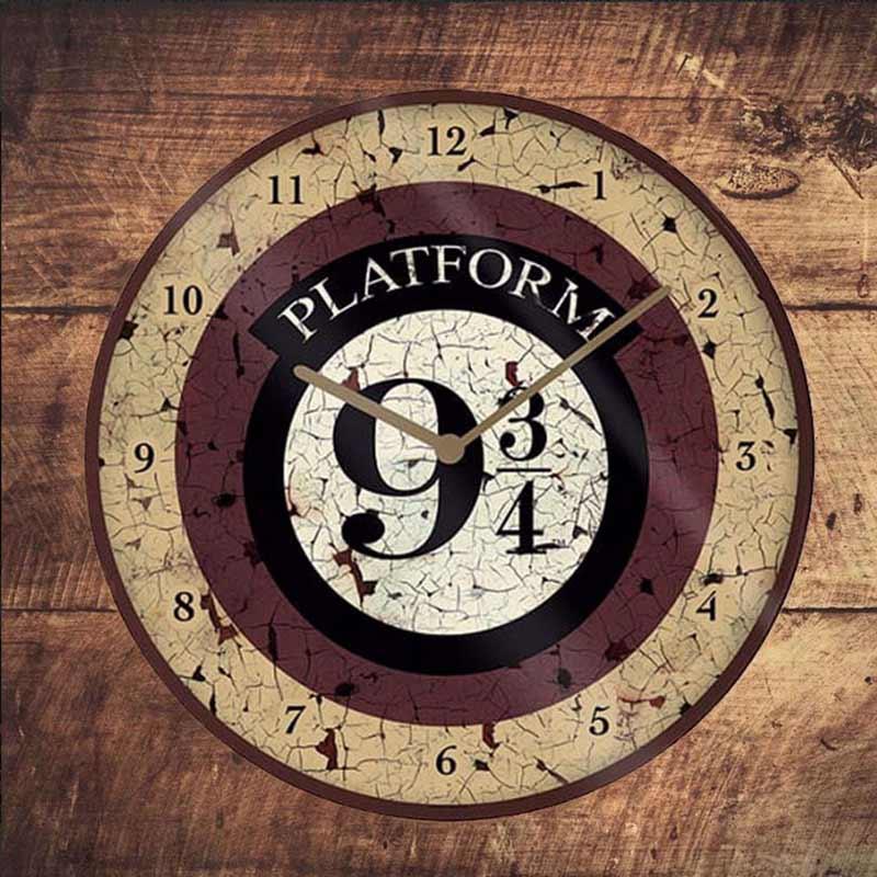 harry potter zegar ścienny peron 9¾
