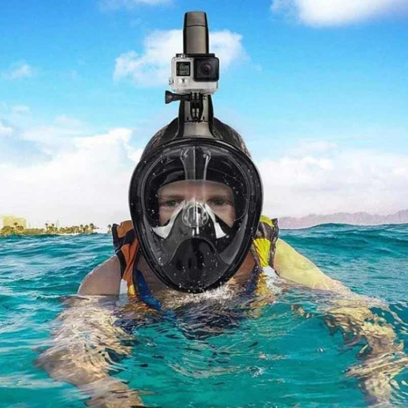 maska do nurkowania full face